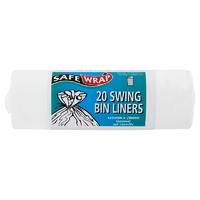 Safewrap 20 Swing Bin Liner (approx 50L)