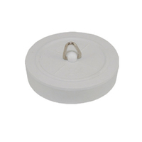 1.3/4'' White Rubber Plug 44mm (WT1337)