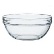 Arcoroc Mixing / Salad Bowl Glass Stacking 200mm Dia