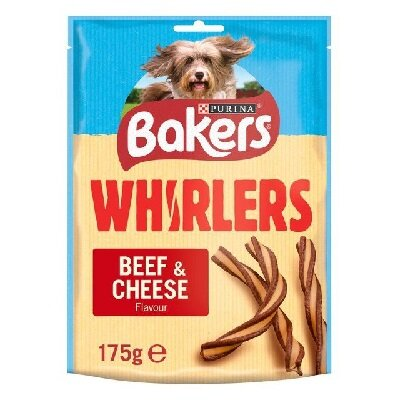 Bakers Whirlers Beef & Cheese 6 x 130g
