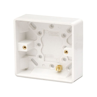 1 Gang 25 mm PVC Socket Box