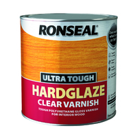 RONSEAL ULTRA TOUGH HARDGLAZE CLEAR VARNISH 2.5 LTR
