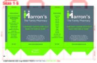 MARRON PHARMACY CLANE BAGS VARIOUS SIZES