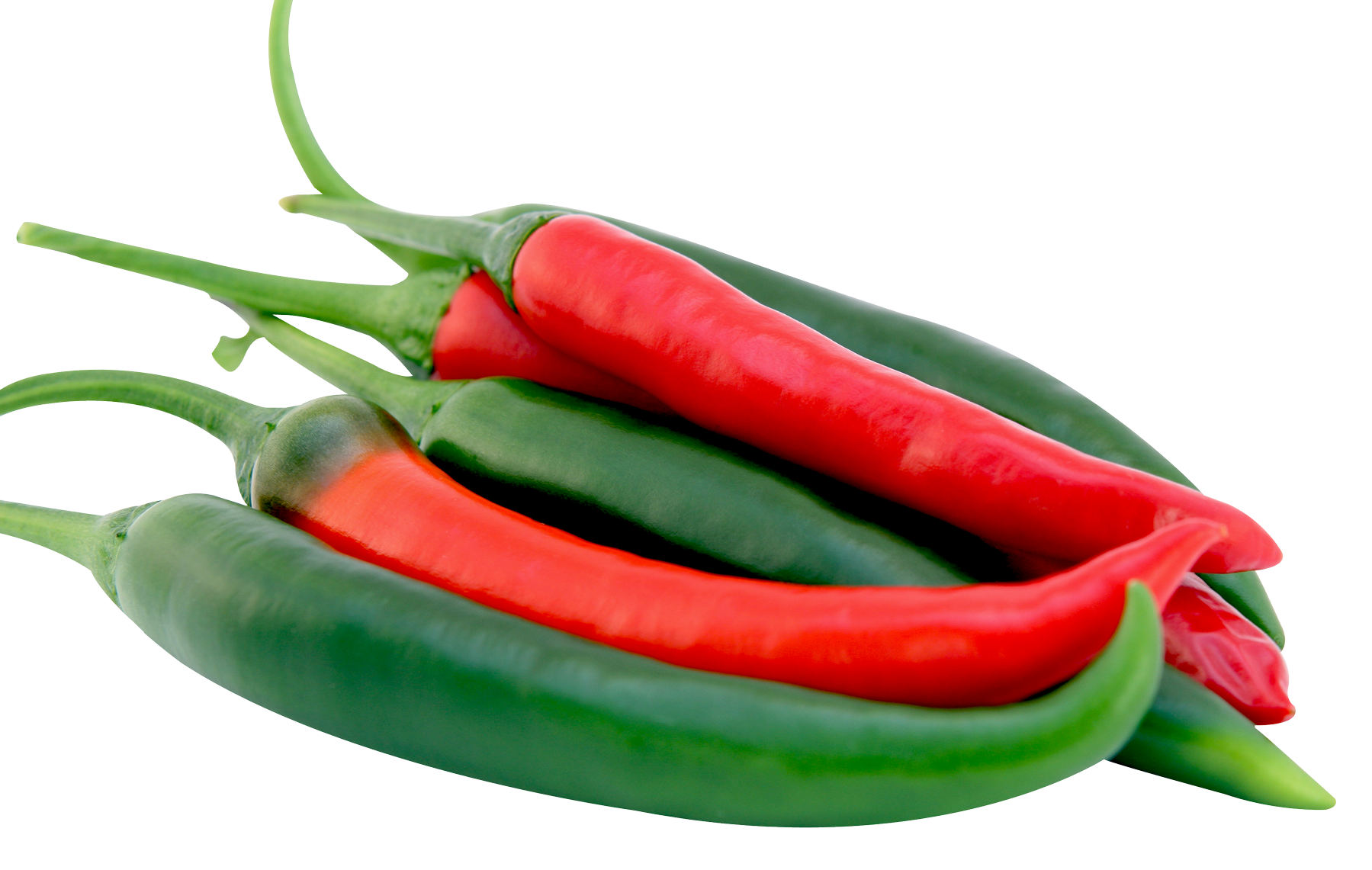 Long Chillies - Red/Green