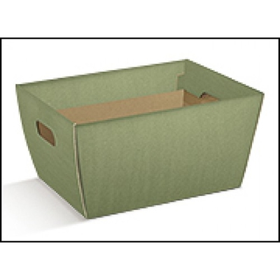 TRAY HAMPER 435X280X230MM SAGE GREEN