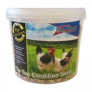 Cluckers Tip Top Condition Seed 3kg [Zero VAT]