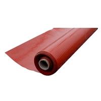 VISQUEEN RADON BARRIER 4X20M 300MICRON ROLL - RED - L