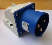 IP44 Appliance Inlet 2P+E -32A 200-250V
