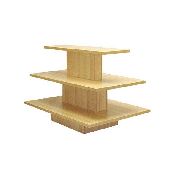 SHOPWORX 3 Tier Rect Table Maple