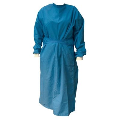 Purfect Operating Gown (Blue) Long Sleeves/Cuffs
