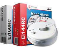 Fire Alarm  Mains B/Backup Heat Alarm