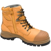 Blundstone 992 Nitrile Sole 300°C Lace Up/Zip Safety Boot&Scuff Cap Wheat