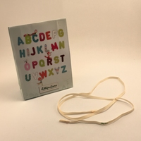 Lilliputiens  Ribbon for Fabric Letters & Numbers