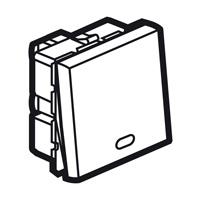 Arteor 20Amp Switch 2 watt (Indicator) 2 Module - White  | LV0501.2399
