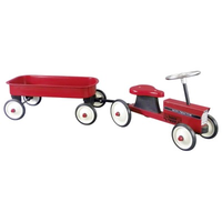 Children's Ride-on Tractor with Trailer