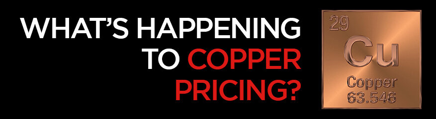 What's happening to copper pricing?