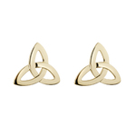 14K TRINITY KNOT STUD EARRINGS