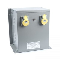 WS Enclosed 240/110V Input Protected Transformer (3~6kVA)