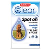 Bob Martin Flea-Clear Spot-On Medium Dog Flea Drops 1 Tube x 1