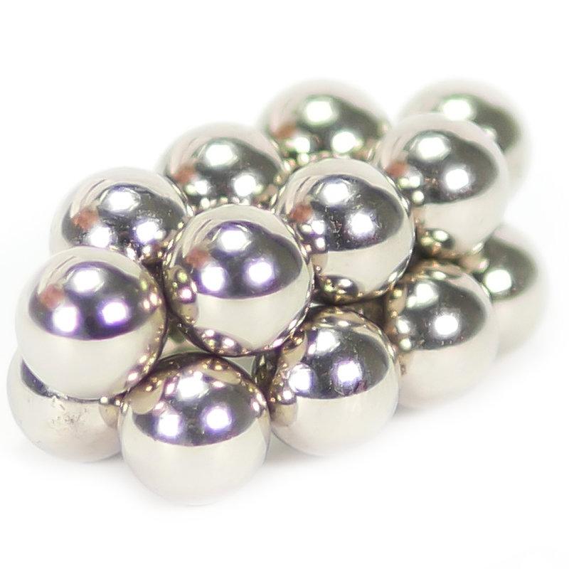 NEODYMIUM MAGNETS | BALL 8MM DIAMETER N35 NICKEL