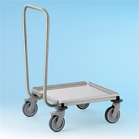 Dolly Stainless Steel 580x670x860mm for 500mm Square Baskets