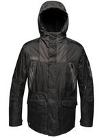 Regatta Insulated Waterproof Jacket Black