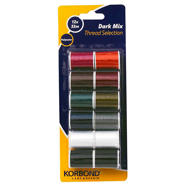 Poly Thread Blisterpack (Dark Mix) - Wilsons - Import, distribution