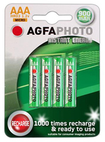 AgfaPhoto Rechargeable Battery AAA 900mAH