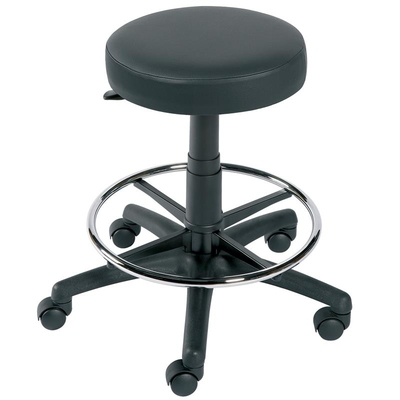Stool with Ring - Mobile Black