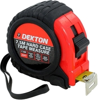 Dekton 7.5mm Hard Case Measuring Tape
