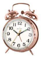 ACCTIM DOUBLE BELL ALARM CLOCK