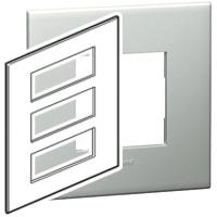 Arteor (British Standard) Plate + Support 3x6m Square Pearl Alu | LV0501.0121