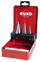 RUKO Tube & Sheet Drill HSS Ground Set