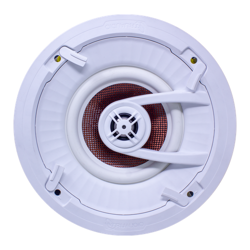 """TruAudio Ghost 7"""" In-Ceiling Carbon Woofer TruGrip™ Tool-less Install QuickConnect™"""