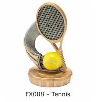 Tennis Flex Figure 75mm (Silver & Gold)