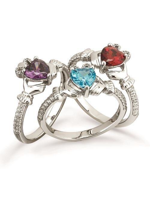 Claddagh Birthstone Collection