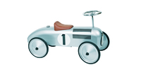 Ride on Silver Car. Price includes free delivery to your customer.