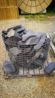 Plum Slate Rockery Cage