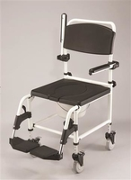 Deluxe Attendant Shower Chair/Commode