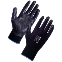 Supertouch Nitrotouch Gloves, Black