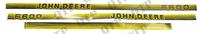 Kit d'autocollants John Deere 6600