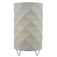 Aisha Table Lamp with White Shade