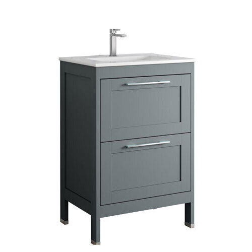 Corey 60cm Floor Standing Unit Matt Grey