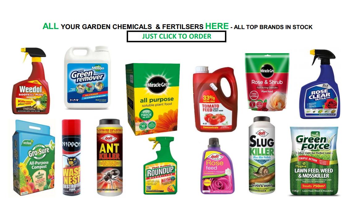 GARDEN CHEMICALS & FERTILISERS