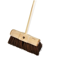 Assembled 13'' Sherbro/Poly Broom (WT524/H)
