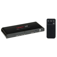 Labgear  3 Way 4K HDMI Switch with Remote and IR Receiver