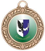 40mm Bronze Zamac Rope Medal | TC94