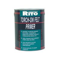 TORCH ON FELT ROOF PRIMER 5LTR BITUMEN BOSTIK BLACK