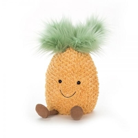 JellyCat Fluffy Toy Amusable Pineapple