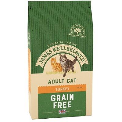 James Wellbeloved Adult Cat Turkey Grain Free 1.5kg
